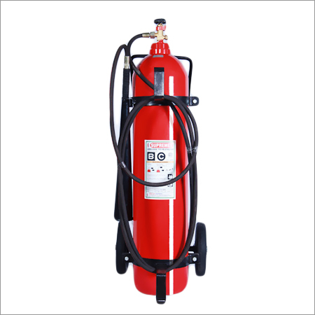 Trolley Mounted Carbon Dioxide Extinguisher