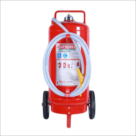 Trolley Mounted Dry Powder Extinguisher