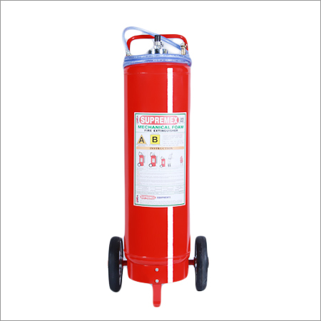 Trolley Mounted Mechanical Foam Extinguisher
