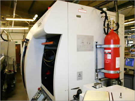 CNC Machine Fire Suppression Systems