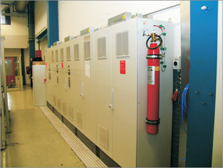 Electrical Cabinet Fire Suppression System