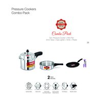 Combo Pack Pressure Cooker