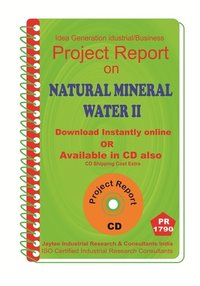 Natural Mineral Water II manufacturing Project Report eBook