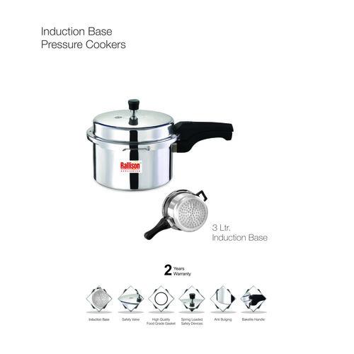 2 Liters Aluminum Pressure Cooker