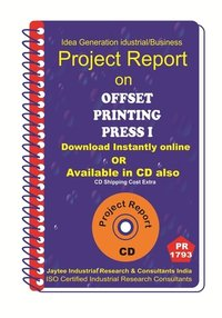 Offset printing Press I project Report eBook
