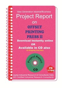 Offset printing Press II project Report eBook