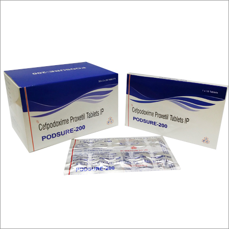 Cefpodoxime Proxetil Tablets