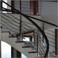 PVC HANDRAIL IN DIFFERENT SIZES & COLORS USED IN BUILDING STAIRC