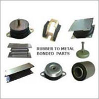 VARIOUS METAL TO RUBBER PU BONDED PARTS