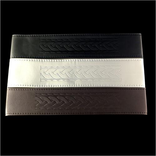 Black Car Steering Covers