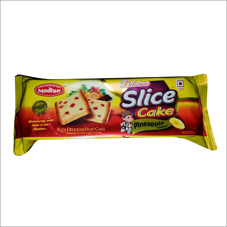 Slice Cake Pineapple Flavour