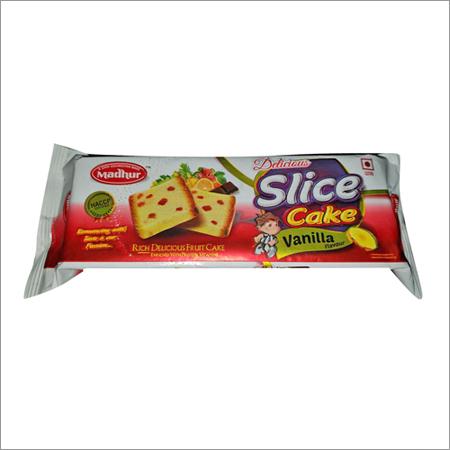 Slice Cake Vanilla Flavour