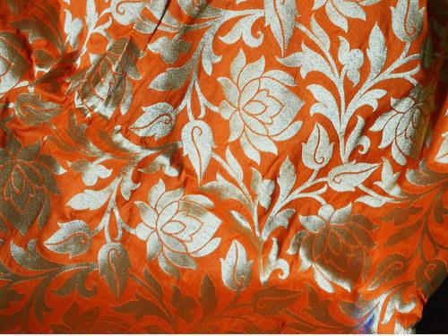 Banarasi Jacquard - Cotton Silk Fabric