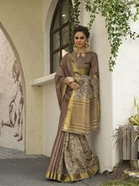 Ladies Printed Designer Saree