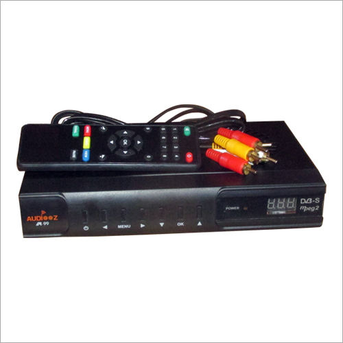 Audiooz DTH Set Top Box Free to Air