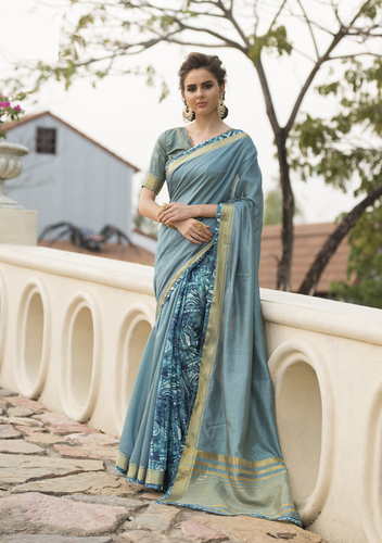 Digital Printed Saree (Digi Silk)