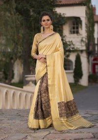 Ladies Fashion Printed Saree