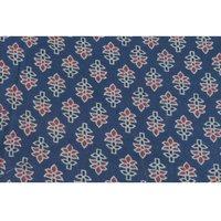 Ajrakh - Silk Mashru Fabric