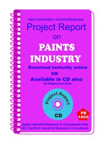 Paints Industry manufacturing project Report eBook