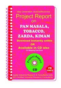 Pan Masala, Tobacco ,Zarda, Kimam manufacturing eBook