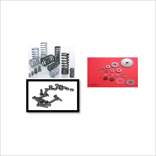Springs, Washers,  Nut & Bolts