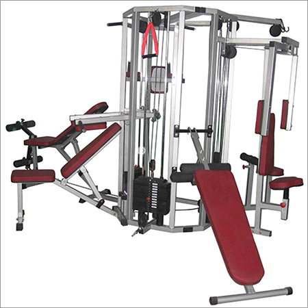 Six Station Multi Gym Equipment