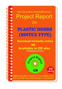 Plastic Doors (Sintex Type) manufacturing Project Report eBook