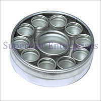 12pcs Aluminum Box Set - Round (ALB-001)