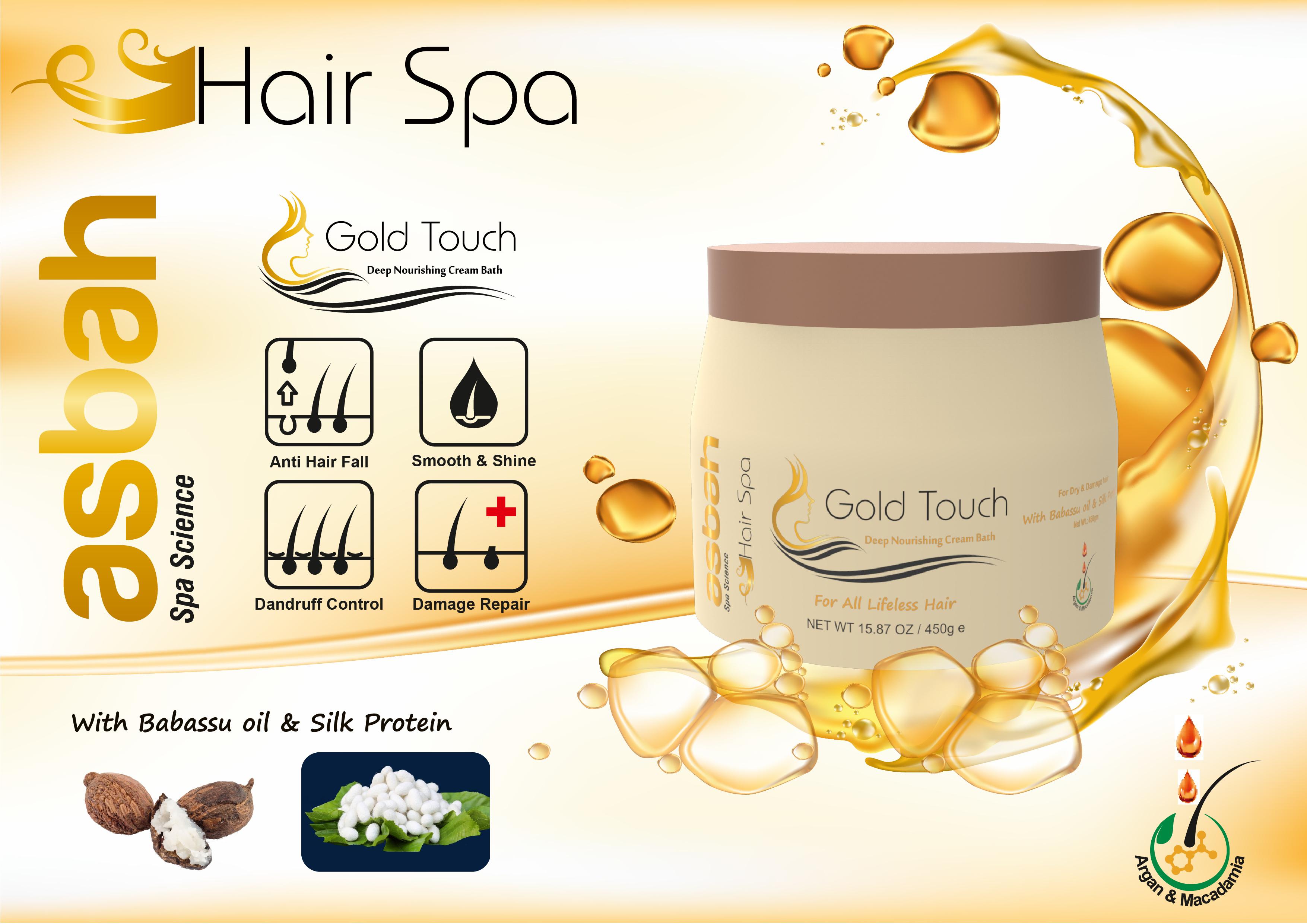 GOLD TOUCH HAIR SPA CREAM