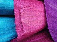 Bhagalpur jacquard - Cotton Silk Fabric