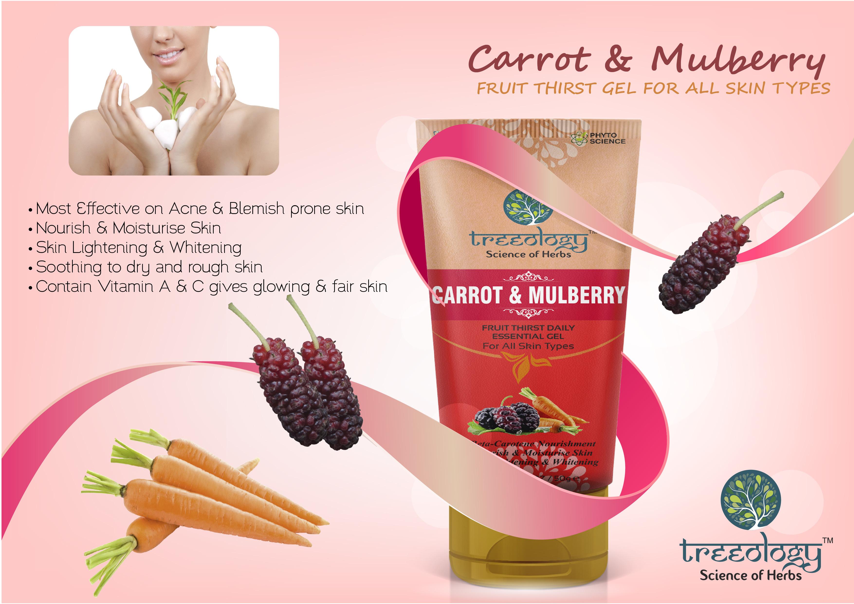 Carrot & Mulbery Fruit Thirst Gel