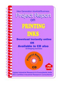 Printing inks manufacturing Project Report ebook