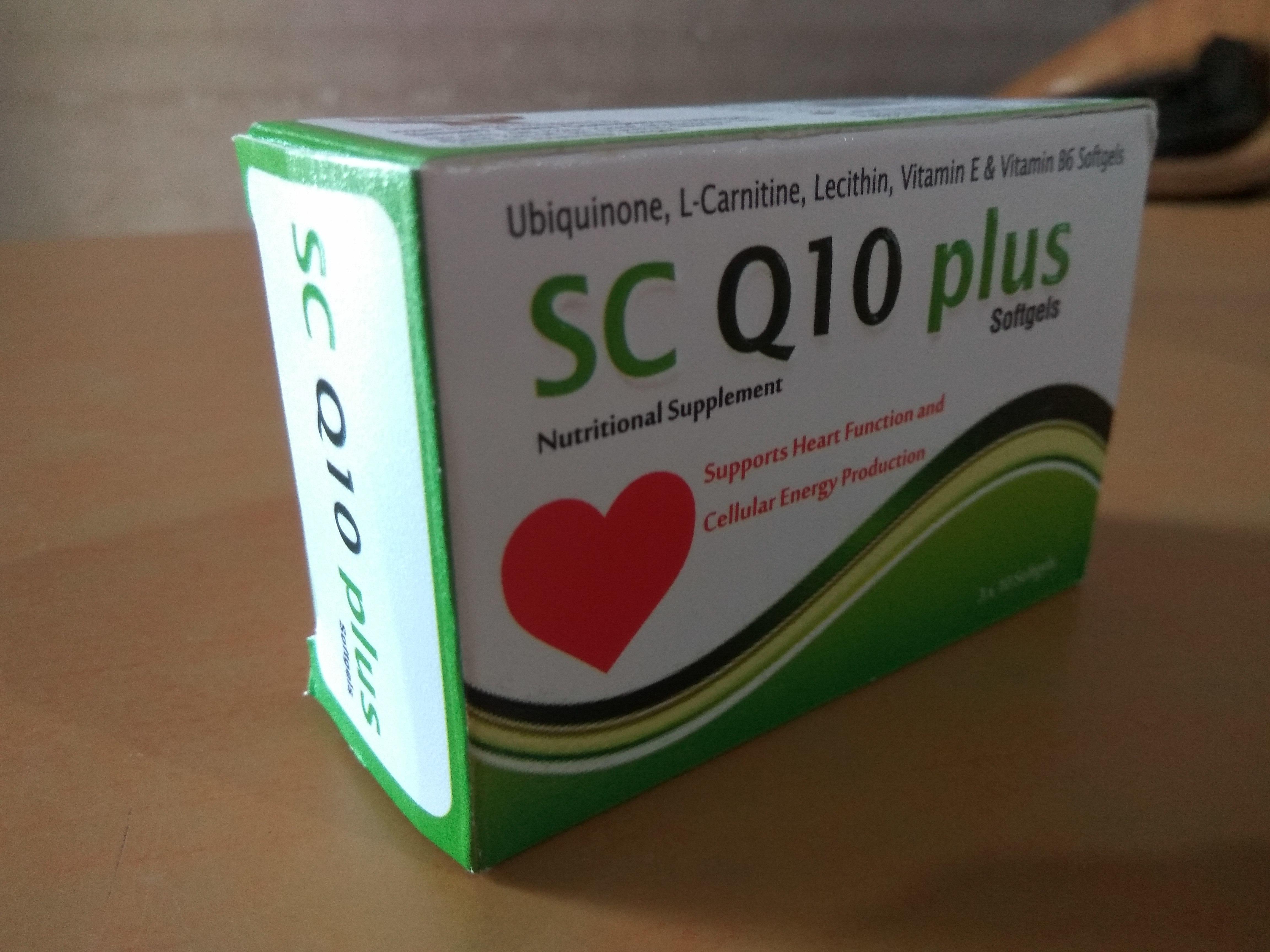 Ubiquinone Softgel Capsules