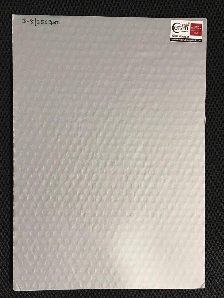 cello Floor Protection Sheet Bubble guard