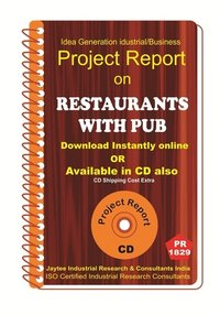 Restaurant With PUB II manufacturing Project Report ebook