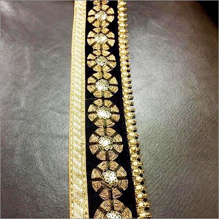 3mm Black Maharani Lace