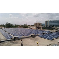 Flat Roof Module Mounting Structure