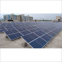Flat Roof Solar Panel Mounting Structure