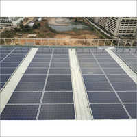 Sloped Sheet Solar Panel Mounting Structure