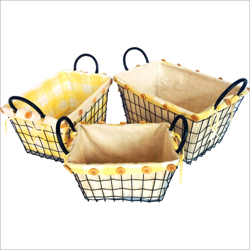 Storage Basket And Boxes