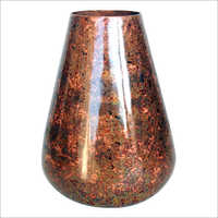 Copper Conical Vase