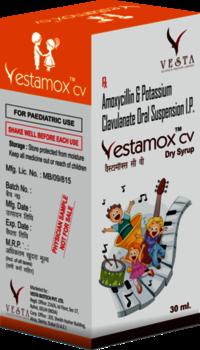 VESTAMOX-CV Antibiotic Dry Syrup