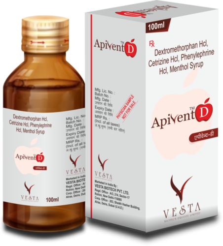 100ml Apivent D Syrup