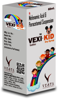 Vexi Kids Fever Dry Syrup