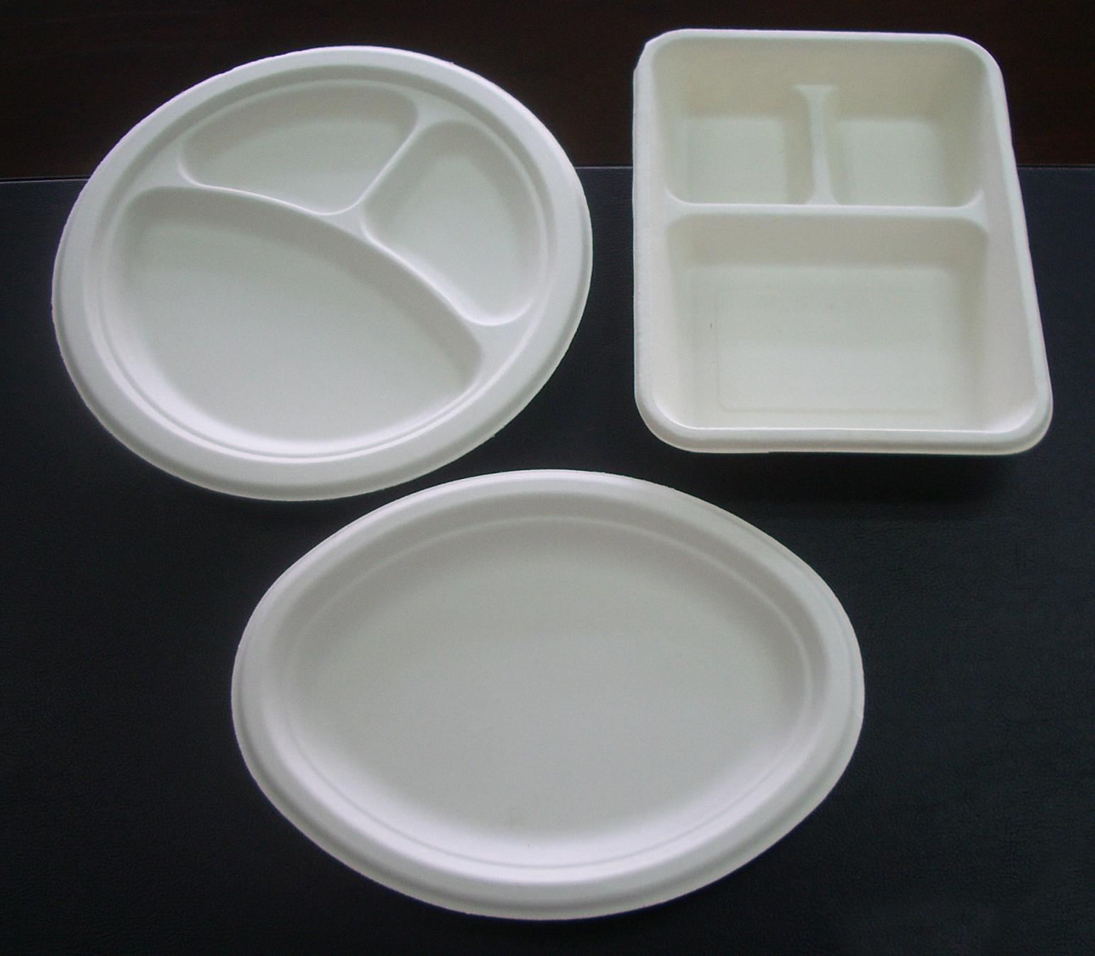 Biodegradable Plate Making Machine