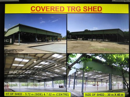 Pre-Fabricated Steel Structures