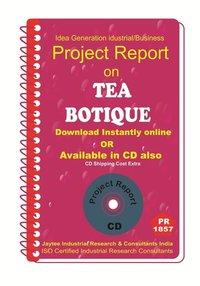 Tea botique Project Report ebook