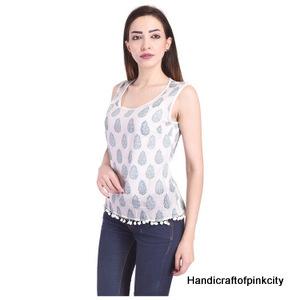 Handblock Print Cotton Dress