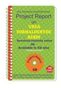 Urea Formaldehyde Resin III manufacturing Project Report eBook