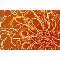 Plastic Abstract Table Mat